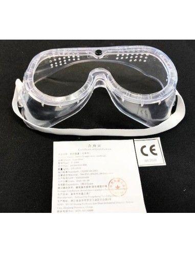 Lunettes de protection PVC EN166