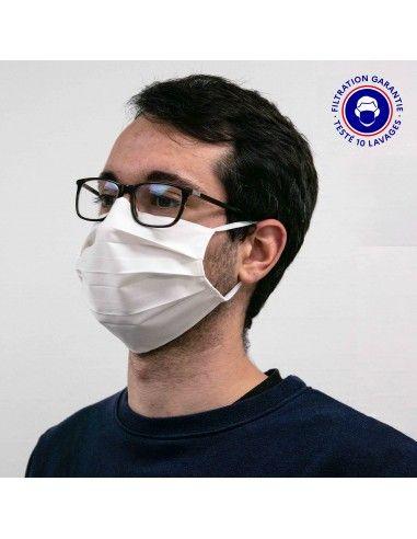 Masque type I - UNS2 - Tissu 3 plis -...