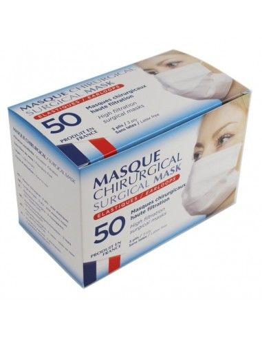 Masque français, chirurgical NF...
