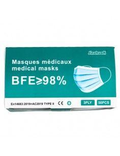 Masque médical 3 plis Type...