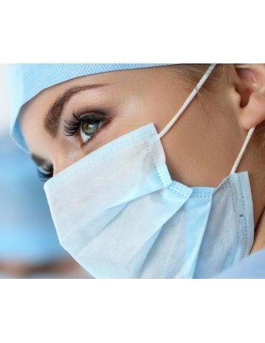 Masque NF EN14683 Type II médical 3...
